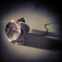 Bloody Paper Rose by WomanOfTheSorrow