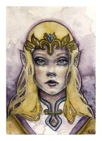 Zelda by kellymckernan