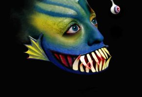 Makeup - Fish by L-Pwet