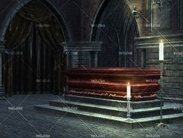 Coffin Room by Trisste-stocks