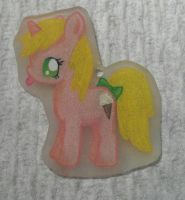 Lickety Split shrinky dink by Painted-Kitty