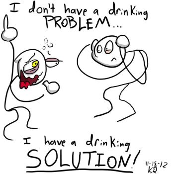 Drinking Solution by Tur713