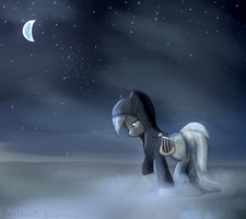 Naught but a Ghost by DarkFlame75