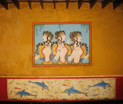 Three Maidens Mural full by Timeless-Faces