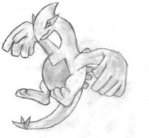 Lugia Drawing by duelistshdow123