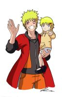 Daddy Naruto by kima14u