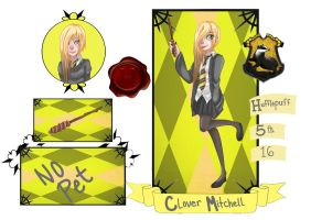 Application - Clover Mitchell by XIIInights