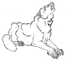 Dire wolf. by CArmbrusteri