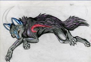 Black Wolf by SasoriDanna94