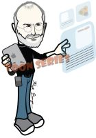 Tribute - Steve Jobs by toonseries