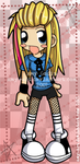 Hey. Hey. You. You. Avril. by amy-art