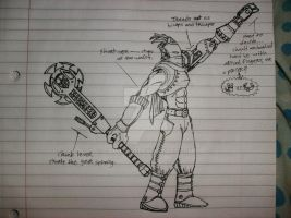 Cog Knight Side View by Camilo101