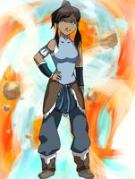 Legend of Korra by NinaChan13