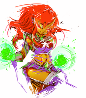 Starfire by Mr5star