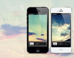 iPhone 5 Sunset Wallpapers by solefield