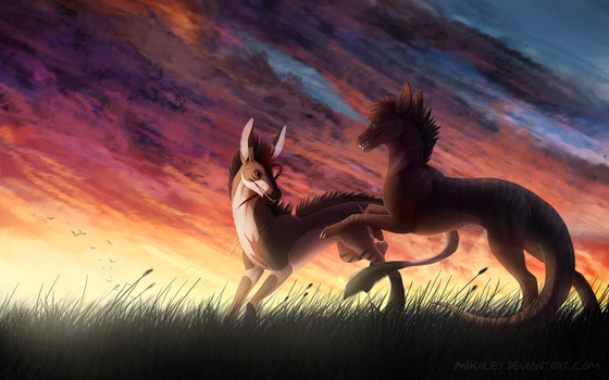 Commission - The Light of Day by Mikaley