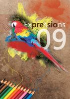 Expressions 09 Cover Page by paradoxparty