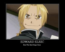 Edwards rape face by FamishedZero