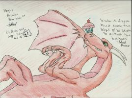 Gift: Wise Dragon, Brunvindr by IncredibleCheese