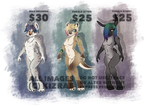 OPEN 3/3 - Adopts by kizrae