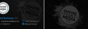 Imagine That Media Businesscard by Pr5cious