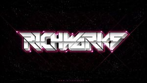 Retro Futuristic Typography by richworks