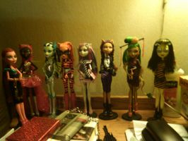 Monster High Dolls by myers30534