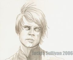 Skywalker, uncolored by jackieocean