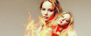 the girl on fire by Lane-X