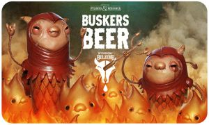 Beer Label 4 by Felideus