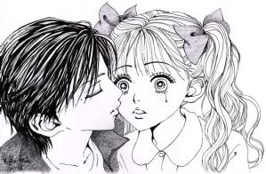 Anime Kiss by Barzelletta