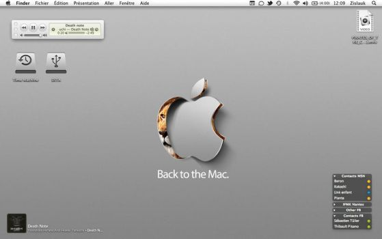 Back to the Mac by Zislauk