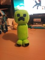 "6"" Creeper Plush by BakaNekoSango"