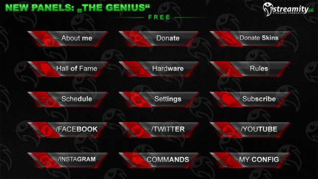 Streamity.gg - Panels (Package) - #010 by streamity