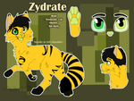 Simple Reference Sheet Commission- Zydrate by Artzipants