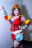 Rhode Island Comic Con 2014 - Mad Moxxi(PS) 03 by VideoGameStupid