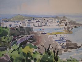 St Ives from tregenna hill by MichaelHocking