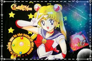 Sailor Moon Pouch by LadyAriessTemptra