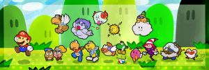 Paper Mario and Friends by Jeremy-Mendoza