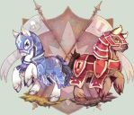CM : Knights and Warhorses by Mi-eau