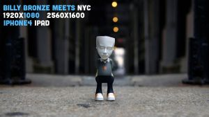 BILLY BRONZE MEETS NYC by turnpaper