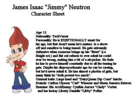 James Isaac 'Jimmy' Neutron by nick-knack