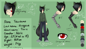 Toxic Ref Sheet by ninetail-fox