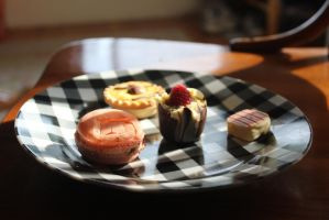 Plate of Sweets by AtomicBrownie