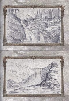 Wildborn Kickstarter sketches: 7 and 8 by RalphHorsley
