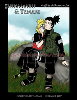 Wind and Fire, TemariShikamaru by pgushi
