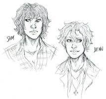 FemBros: Sam and Dean by karuhichan359