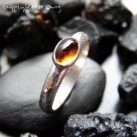 Stacking Amber Ring by che4u