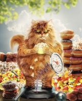 Diaet? Ohne mich! (Diet? Without me!) by AndraKa