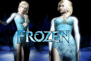 XPS - Frozen - Queen Elsa DL Updated by SovietMentality